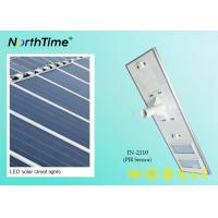 Quality 110W Solar Powered Road Lights , Solar LED Street Lighting 120° Beam Angle for sale
