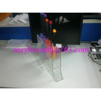 Wholesale Transparent acrylic knives display racks / PMMA knife holder / plexiglass knife stand from china suppliers
