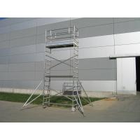 Wholesale Cold Formed Climbing Scaffolding / Ring lock aluminium mobile scaffold tower from china suppliers