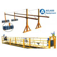Wholesale Building Construction Tools 630kg Suspended Working Platform With Wire Rope from china suppliers
