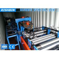 Wholesale Construction Structure C Z Section Roll Forming Machine Quick Interchanged from china suppliers