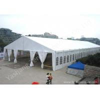 Wholesale White PVC Textile Roof and Wall Outdoor Event Tent with Skeleton of Aluminum Alloy from china suppliers