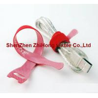Wholesale Back to back double sided one strap hook and loop cable tie from china suppliers