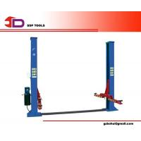 Wholesale Dual Cylinder Two Post Car Lift with Low Friction Chain Rollers, Automatic Arm Restraints from china suppliers
