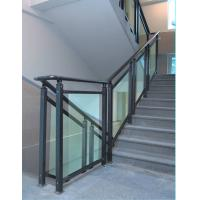 Wholesale Sound Insulation Staircase Railing Glass, Anti UV Laminated Toughened Glass from china suppliers
