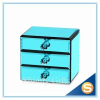 Wholesale High Quality New Design Glass Jewelry box With Mirror China Manufacturers from china suppliers
