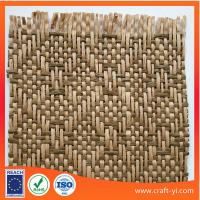 Buy cheap woven straw fabric for hats in natural material textile fabric from wholesalers