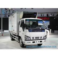 Wholesale ISUZU 4 X 2 3 Ton Refrigerated Van Truck For Fresh Fish / Meat from china suppliers