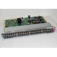 Wholesale 48 Port Cisco 4500 Modules WS-X4748-RJ45V+E from china suppliers
