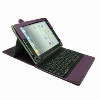 Buy cheap Leather Case with Removable Bluetooth Keyboard, for iPad from wholesalers