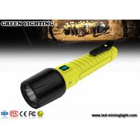 Wholesale 20000 Lux super brightness Explosion Proof Torch magnetic USB charger with OLED from china suppliers