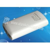 Quality Portable White Poker Scanner , Samsung Mobile Power Bank Spy Camera for sale
