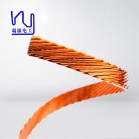 Buy cheap Different Size Flat / Rectangular Litz Wire , Multiple Stranded Magnet Wire For Inverters from wholesalers