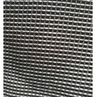 Buy cheap Black Microfiber Waffle Fabric  300gsm 150cm Width For Beddings Clothes from wholesalers