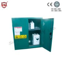 Wholesale Short Steel Hazardous Storage Cabinet With 5 Shelves  Green 20 Litres from china suppliers