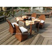 Wholesale Outside PE Rattan Wicker Furniture / Garden Rattan Sofa Set Comfortable from china suppliers