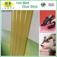 Wholesale Fast Bonding Yellow Hot Glue Sticks Silicone Bar For Hot Melt Glue Gun from china suppliers