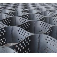 Wholesale Plastic / HDPE Material Textured Perforated Geocell Geonet Black Sheet from china suppliers