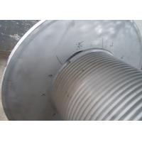 Wholesale Grey Offshore Winch , Wire Rope Drum Carbon Steel / Aluminium Alloy / Stainless Steel Materials from china suppliers