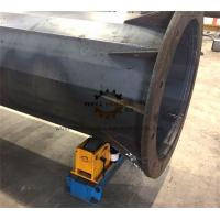 Wholesale 3ton Designed Tank Turning Rolls Rotator For Octagonal Utility Pole and Flange Welding from china suppliers