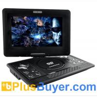Wholesale 10 Inch Swivel Screen Region-free DVD Player with TV Receiver and Remote from china suppliers
