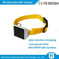 Wholesale smart waterproof solar power gps tracker for cow RF-V26 from china suppliers