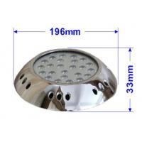 Wholesale 10-30VDC 316 Stainless Steel Underwater Light / led swimming pool light from china suppliers