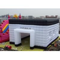 Wholesale 0.4mm PVC Tarpaulin Inflatable Marquee Tent With LED Light For Exhibitions from china suppliers