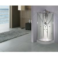 Wholesale Cambered Free Standing Shower Cabins 2050 Height With Mutifunctional Shower Panel from china suppliers