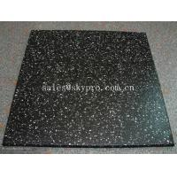 Wholesale Multi-color rubber pavers Smooth embossed Surface , crumb rubber tile flooring from china suppliers
