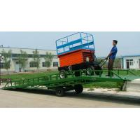 Wholesale ISO Manual mobile yard ramps Rust - proof hydraulic container from china suppliers