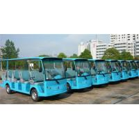 Wholesale 5KW DC Motor Electric Sightseeing Bus With Light / MP3 Player For 14 Passengers from china suppliers