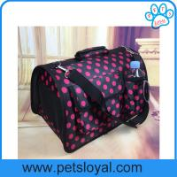Wholesale Factory Pet Supply Product Oxford PU Large Travel Pet Dog Cat Carrier Bag from china suppliers