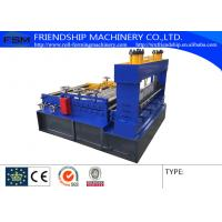 Quality Simple Roof Panel Roll Forming Machine Steel Slitting Lines Width 1000mm for sale