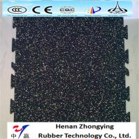 Wholesale Anti-slip wear resistant colored EPDM rubber flooring recycled gym rubber floor mat from china suppliers