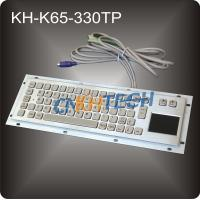 Wholesale Vandal proof metal kiosk keyboard from china suppliers