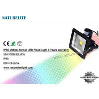 Quality PIR Motion Sensor Warm White 50W Led Flood Light Led Tennis Court Flood Lights Industrial Outdoor for sale