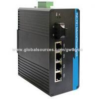 Buy cheap PoE industrial Ethernet switch, 4x10/100Base PoE(PSE) with IEEE802.3af/at-compliant from wholesalers