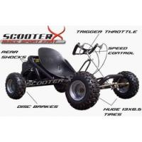 Quality ScooterX 196cc 6.5hp Sport Kart Go Kart for sale