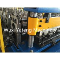 Wholesale 7.5KW H-Beam Base Sheet Metal Forming Equipment , High Precision Wall Panel Machine With Chain Drive from china suppliers