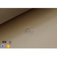 Wholesale 1200gsm 35oz Brown High Silica Fabric 1200℃ Satin Fiberglass Fire Blanket from china suppliers