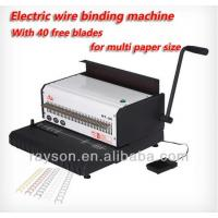 Wholesale Manual Heavy Duty Punching Wire Binding Machines ISO9001 Rayson ET-25 from china suppliers