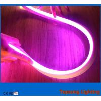 Wholesale hot sale 16x16.5mm square waterproof 110v purple led neon flexible light from china suppliers