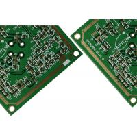 Wholesale 4 Layer Rogers Mixed FR4 Wifi Antenna pcb boards With 5.8 GHz 3 Oz Copper Through Hole Via from china suppliers