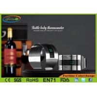 Wholesale LCD Stainless Steel Bar Accessories Perfect Promotion Gift Wine Bottle Thermometer from china suppliers