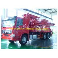 Wholesale CCC / CE Sinotruk Concrete Pump Truck 21m Boom with HOWO Chassis from china suppliers