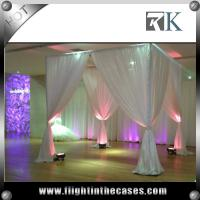 Wholesale innovative backdrop pipe and drape wedding backdrop mandap decoration from china suppliers