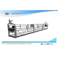 Quality Aluminium Alloy / Steel / Hot Galvanized Suspended Access Equipment ZLP1000 for sale