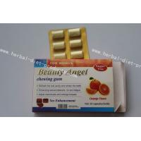 Wholesale Natural Safe Female Sex Enhancements , Beauty Angel Chewing Sex Gum from china suppliers