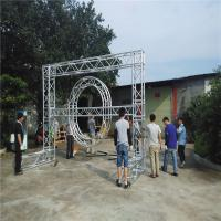 Wholesale Safety Heavy Duty Aluminum Box Truss , Non Rust Global Square Truss Lighting from china suppliers